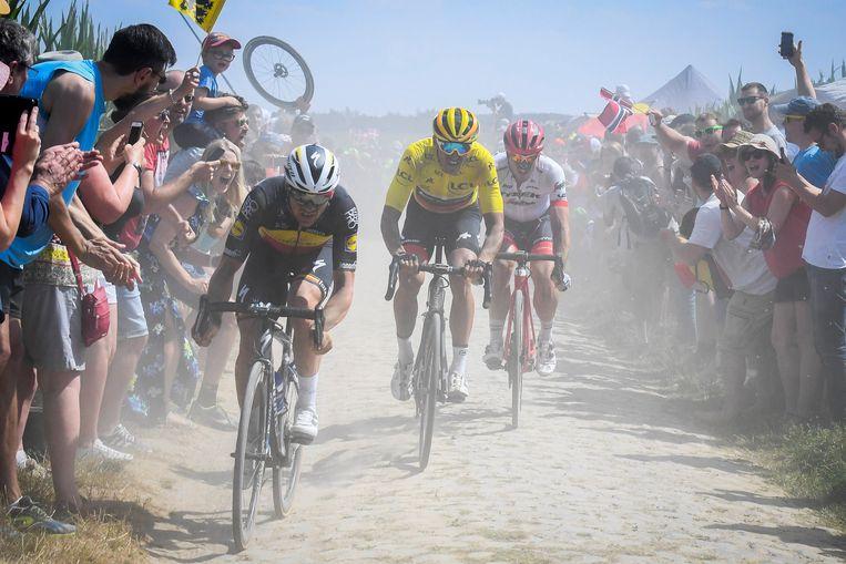 Alleen de Roubaix-rit kon tijdens de start van de Tour bekoren.