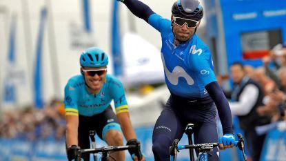 Valverde klopt Astana-renners in spurt met drie - Cavendish keert na vijf jaar afwezigheid terug in Ronde van Oman
