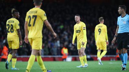 Van het kastje naar de muur: jeugdig Arsenal smeert onthutsend zwak Standard 4-0-nederlaag aan