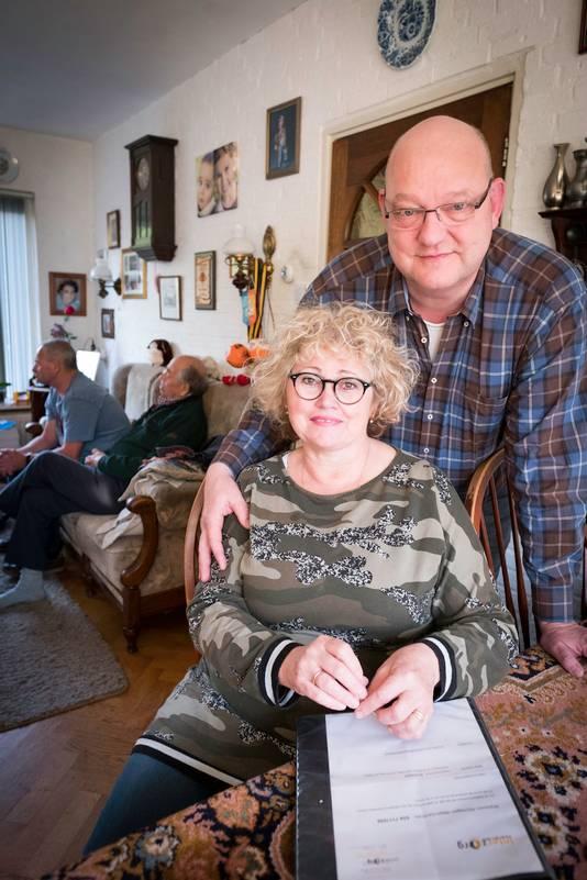 Tineke Bulder met haar man Pieter.