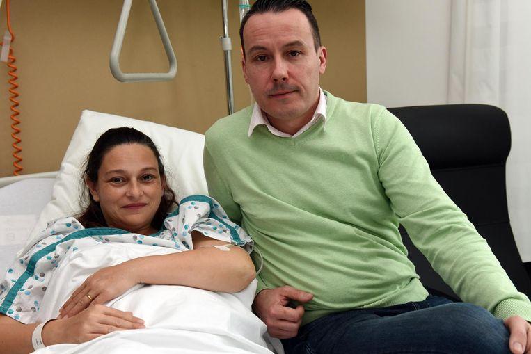 Patricia Verstraete en Steven Verniers zijn de trotse ouders van Léon (zie inzet).