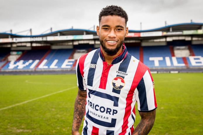 Giliano Wijnaldum in het shirt van Willem II, dat hij verruilt voor dat van Sparta.