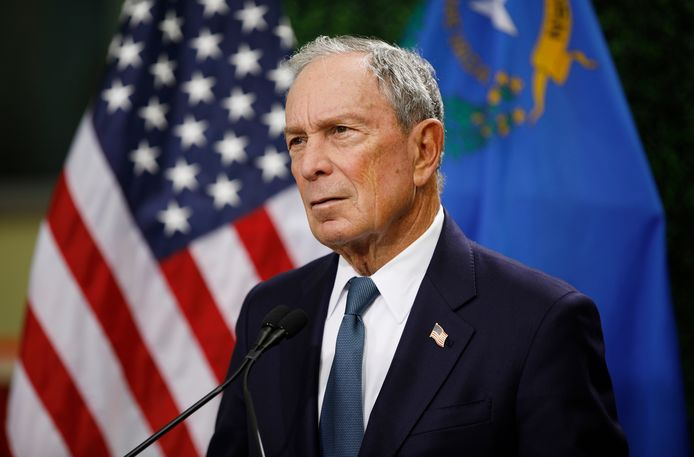 FILE - In this Feb. 26, 2019, file photo, former New York City Mayor Michael Bloomberg speaks at a news conference at a gun control advocacy event in Las Vegas. Tennesseeâęs top election officials say Bloomberg has requested a petition that would require securing 2,500 signatures from registered voters in less than a month if he wants to qualify for the stateâęs Democratic presidential primary ballot. The secretary of stateâęs office confirmed Wednesday, Nov. 13, that Bloomberg requested the ballot petition earlier this week. (AP Photo/John Locher, File)