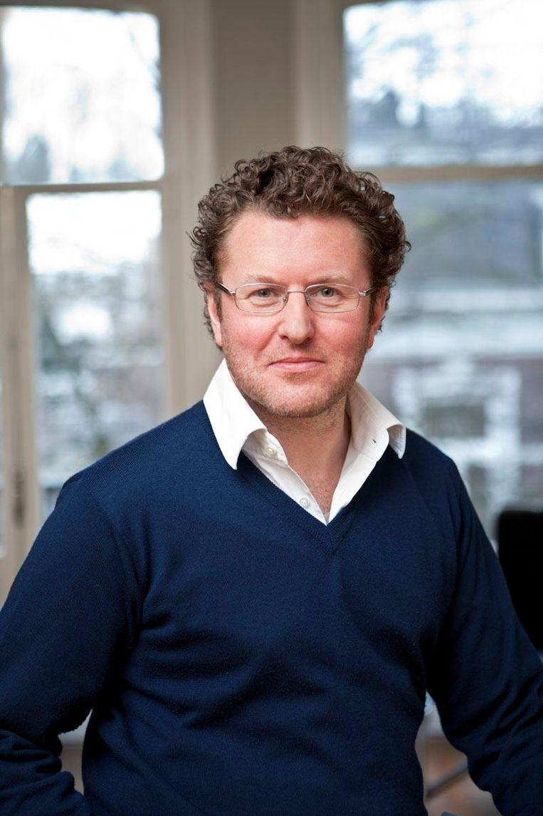 Econoom Bas Jacobs. Beeld .
