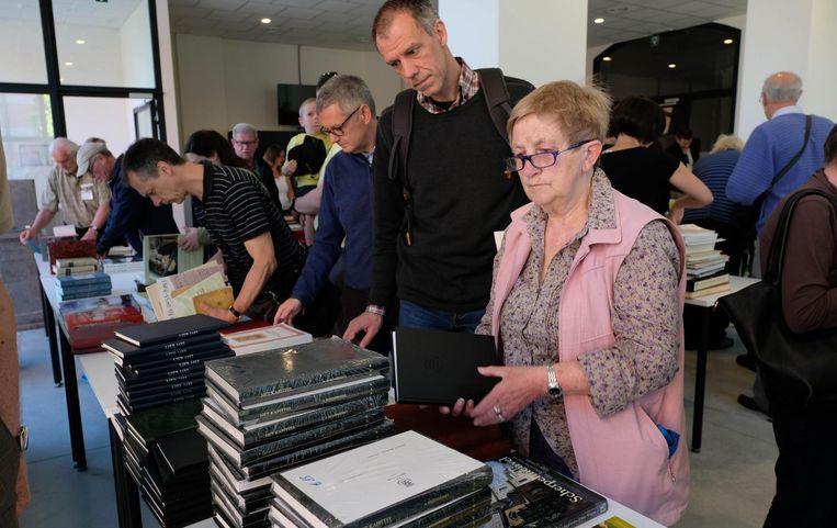 Marie José De Wachter kwam met de fiets van Mechelen naar Lier om boeken te kopen.