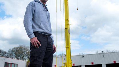 Montaco showt 'speeltje' van 58 meter hoog