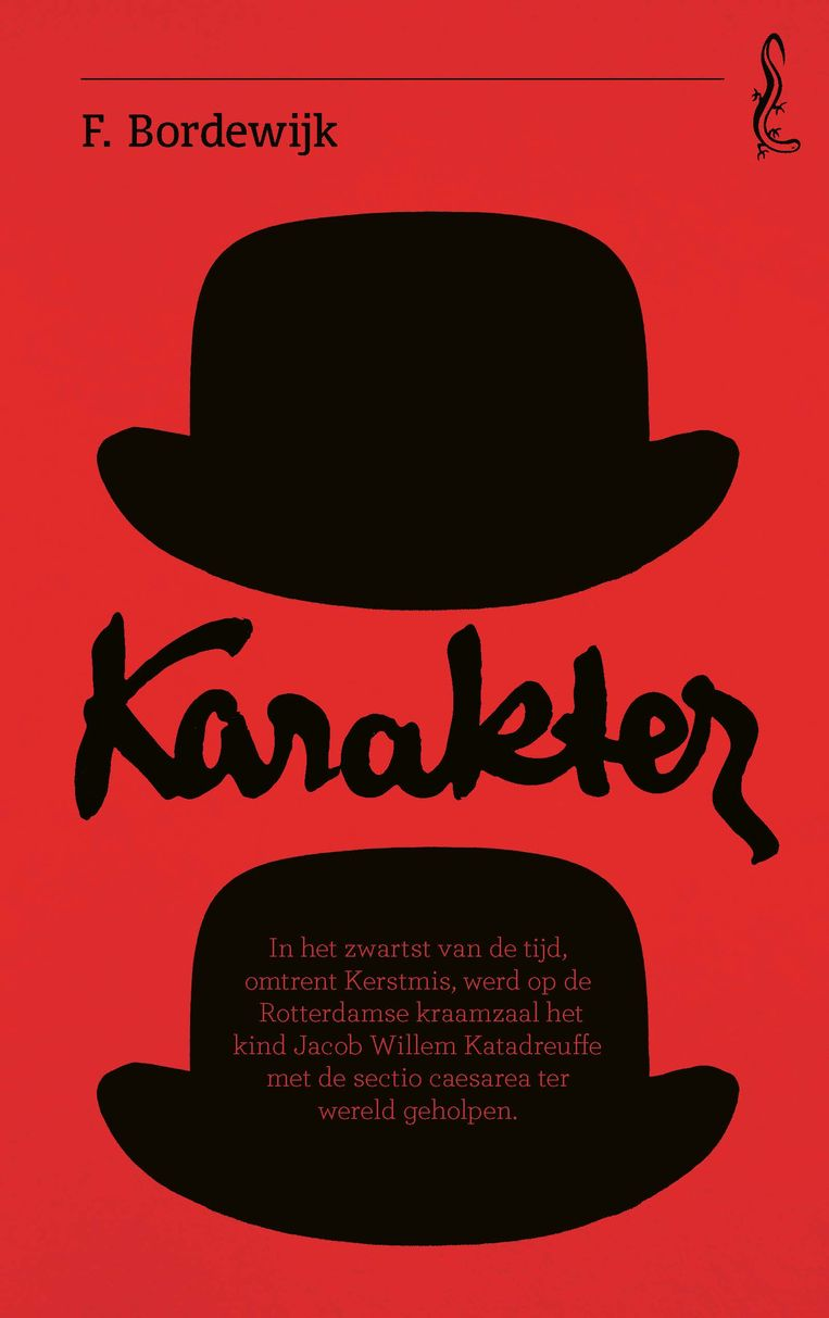 F. Bordewijk: Karakter. Omslagontwerp Sander Patelski. Beeld Singel Uitgeverijen