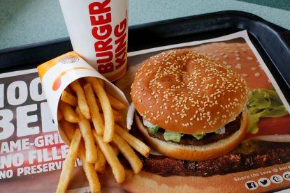 Burger King doet koeien op dieet om klimaat