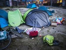 Tentenkamp in de Pijp wordt opgeruimd