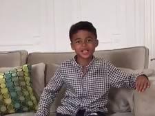 Kluivert (9) steunt Ajax met aandoenlijke videoboodschap