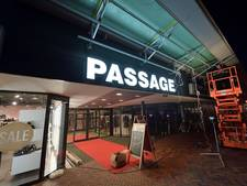 Entree Passage Roosendaal heeft nieuwe letters