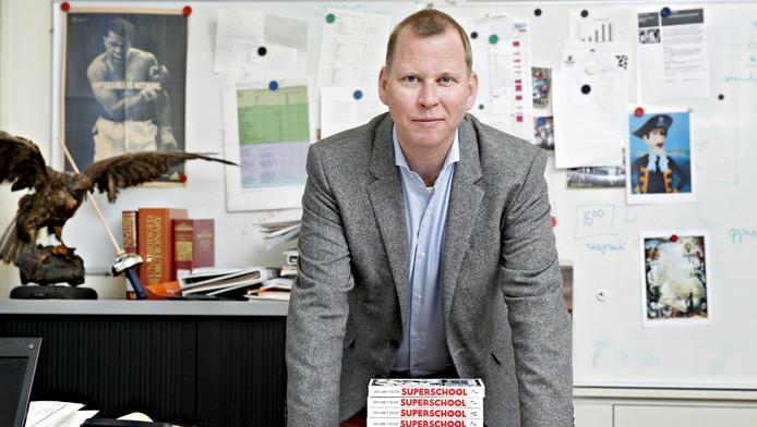 Eric van 't Zelfde beschreef de weg die hij en de Rotterdamse middelbare school aflegden vorig jaar uitvoerig in het boek Superschool.