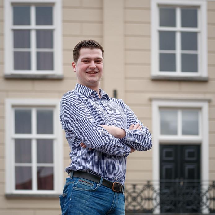 Bjorn Rommens is de nieuwe voorzitter van de Roosendaalse jongerenraad.