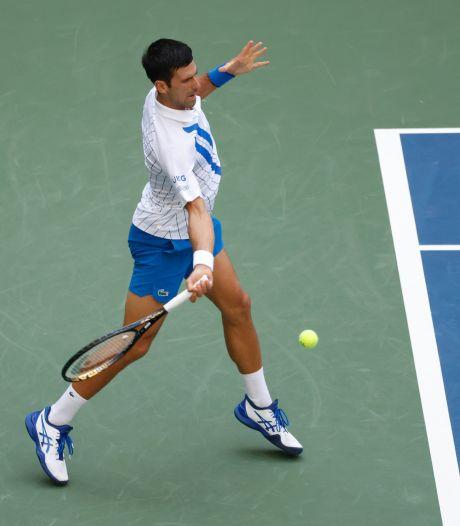 Novak Djokovic a hâte de tourner la page de l'US Open