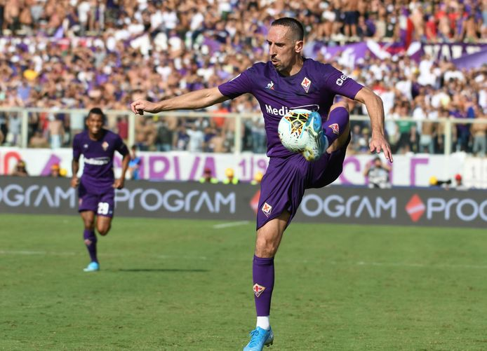 Franck Ribéry speelde een uitstekende wedstrijd.
