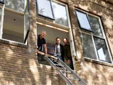 Oude en vervallen Pius X-school in Woerden omgebouwd tot appartementencomplex