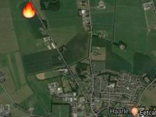Paasvuur ontstoken op nieuwe plek in Haarle