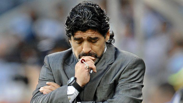 Diego Maradona. Beeld AFP