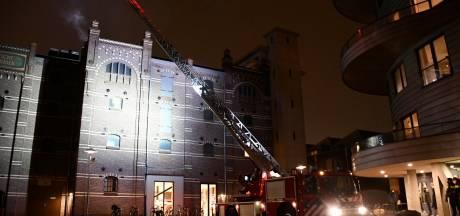Schakelkast in voormalige Cereolfabriek door brand volledig weggesmolten