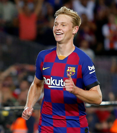 De Jong met doelpunt en assist van grote waarde voor winnend Barcelona