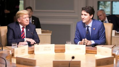 """Constructief gesprek"" tussen Trudeau en Trump na handelsakkoord tussen VS en Mexico"