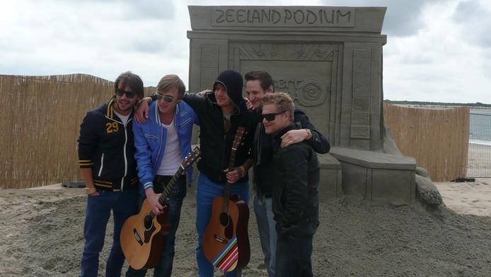 De mannen van Rigby, met van links naar rechts Bart Meeldijk, Lars van Starrenburg en Christon Kloosterboer.