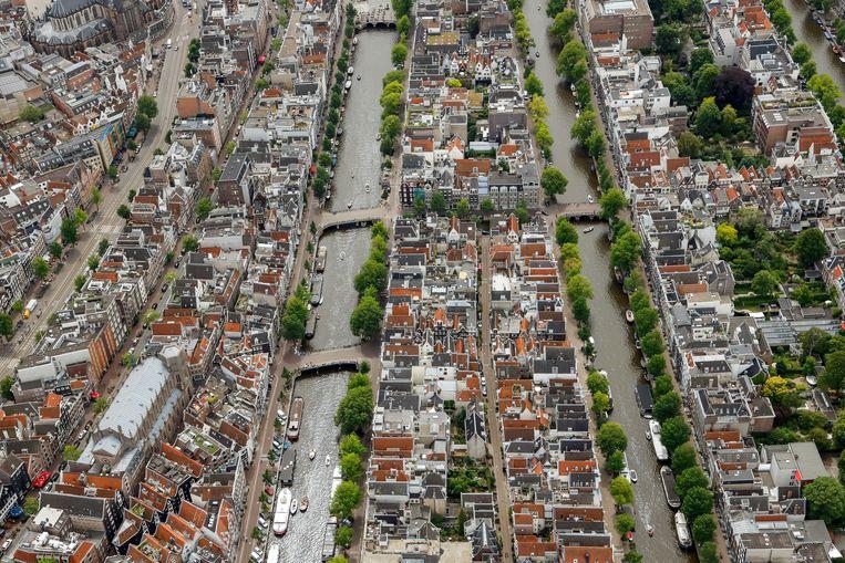 De Singel en de Herengracht. Beeld Hollandse Hoogte /  ANP
