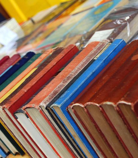 Bibliotheek van één vierkante meter in Randwijk