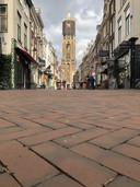 Lege straten in Utrecht.