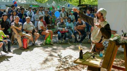 Irisfeesten (en de zon) lokken Brusselaars massaal uit hun kot