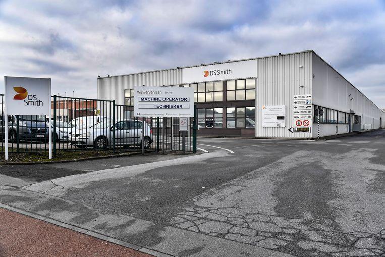 Verpakkingsbedrijf DS Smith is gevestigd aan de Beukenstraat in Buggenhout.