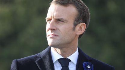 Franse politie pakt zes personen op wegens mogelijke aanval op president Macron