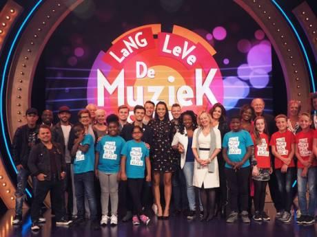 Goudse schoolklas naar auditieronde Lang Leve de Muziek Show