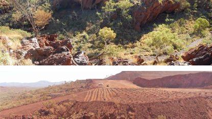 Mijnbouwreus vernielt 46.000 jaar oude rotsschuilplaats van Aboriginals