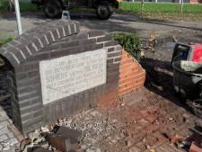 Auto botst op monumentje van Unilever-oprichter in Geffen