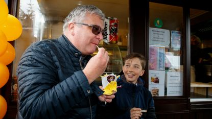"Prins Laurent viert 60ste verjaardag van frietkot in Waterloo: ""Een mooi familieverhaal"""