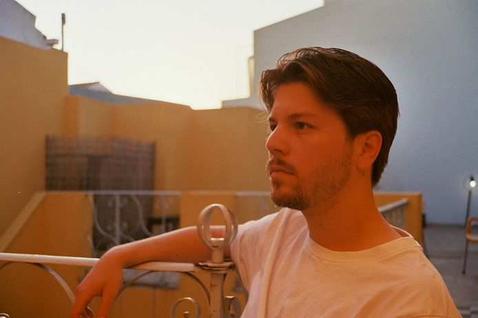 Mark Lazaroms, die als DJ LAZA in het pinksterweekeinde gaat optreden op de Chinese Muur.