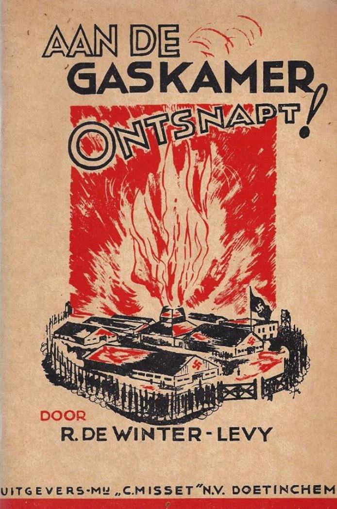 Het boek 'Aan de Gaskamer Ontsnapt' van Rosa de Winter-Levy.