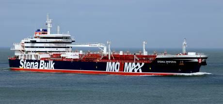 Iran: 'Britse tanker aan de ketting na ongeluk met vissersboot'