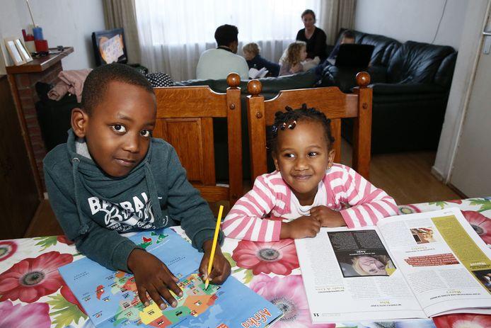 Steve (7) en Ornella (3) worden uitgezet naar Congo.