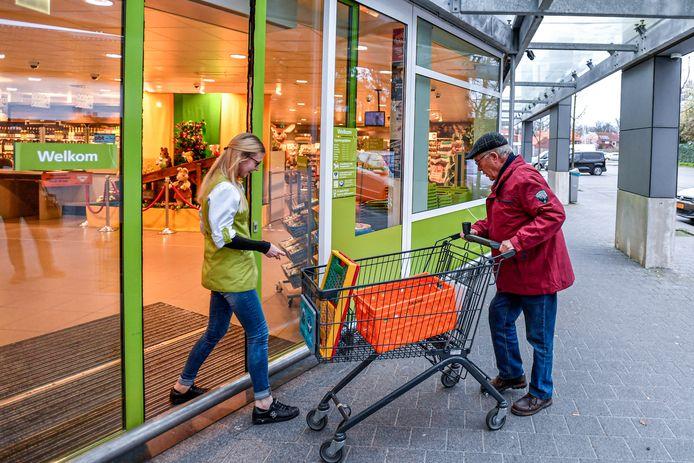 Een winkel van de Plus, niet het filiaal in Susteren.