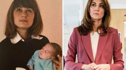 """Kate Middleton verwondert met moederdag-kiekje: """"Wat lijken ze hard op elkaar!"""""""