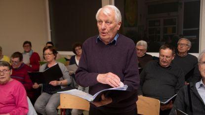Frans, een koorknaap van 91 uit Merelbeke