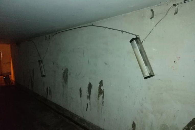 De tunnel lag er de laatste tijd wel erg smerig bij.