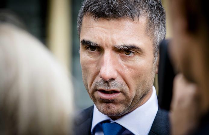 Staatssecretaris Paul Blokhuis van Volksgezondheid, Welzijn en Sport.