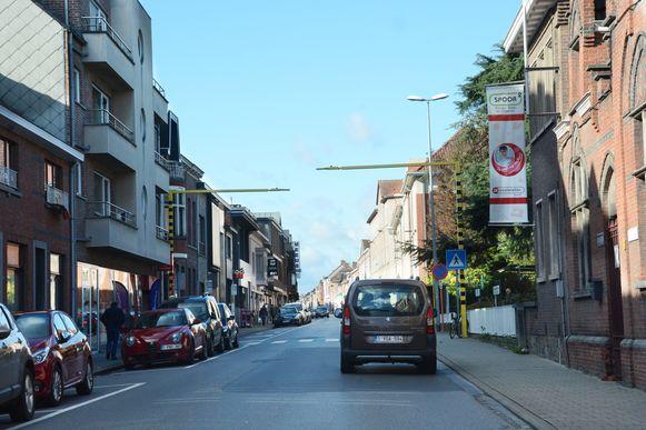 In de Kouterstraat zal na de heraanleg eenrichtingsverkeer worden ingevoerd.