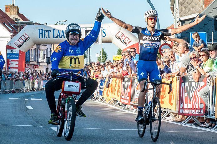 Tom Boonen won vorig jaar het criterium.