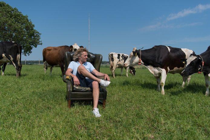 Arjen Verschure, alias Ikbenboer, is een van de eindkandidaten voor de verkiezing van beste ondernemer in Zeewolde.