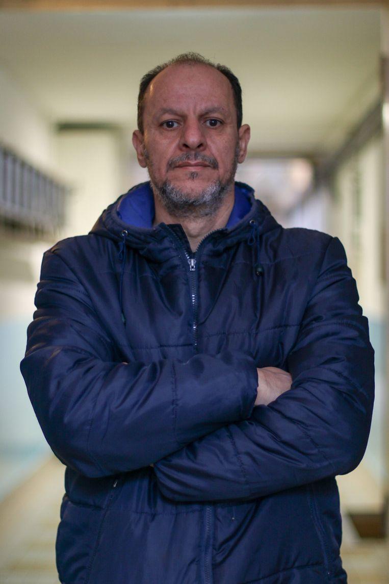 Staatloze Ibrahim Elsaadani: 'Ik wil Nederland leren kennen, de taal leren en integreren, maar dat is niet mogelijk in mijn situatie.'  Beeld Fouad Hallak