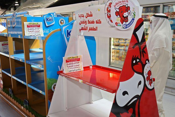 Een supermarkt in Koeweit boycot deze week Franse producten vanwege in Frankrijk gepubliceerde spotprenten.